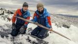 노르웨이 빙하에서 1300년전 타던 나무 스키 발견