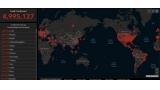 전세계 코로나19 환자 500만명 '눈앞'…러시아·남미·아프리카 '확산 비상'