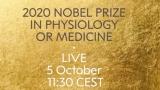 [생중계] 2020 노벨 생리의학상 수상자 오후 6시 30분부터 발표