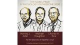 노벨생리의학상에 C형 간염 바이러스 발견한 바이러스학자 3명 (2보)