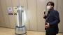 불꺼진 사무실 홀로 돌아다니며 스스로 소독하는 똑똑한 '방역로봇'